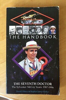 Doctor Who The Handbook The Seventh Doctor Virgin book excellent & unread