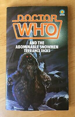 Doctor Who And The Abominable Snowmen 1983 Target book near mint & unread