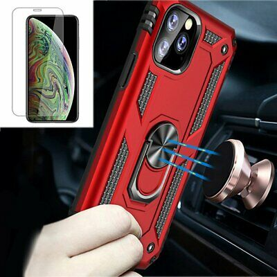 For Apple iPhone 11 Pro XS Max X XR 7 8 6S Plus Slim Case Cover+Screen Protector