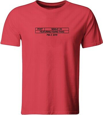 Hollywood's Bleeding Young Thug T-Shirt Rap Gift Post Malone Album 03 Beerbongs