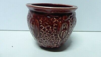 Vintage  Pottery Art Deco Ceramic Vase Embossed- Marked To Base Florence England