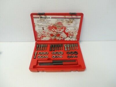 Snap On RTD42 42 Piece Rethreading Set