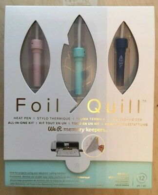 We R Memory Keepers Foil Quill All In One Kit-Brand New-For Cutting  Machine