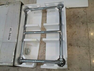 Eastbrook Cotswold Stour 690x500 chrome radiator towel rail