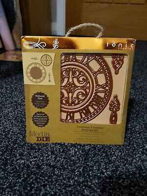 Tonic Studios Media Die Set Traditional Timepiece