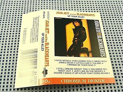 """JOAN JETT & the BLACKHEARTS - Up Your Alley - EXCELLENT CONDITION """"I Hate Myself"""