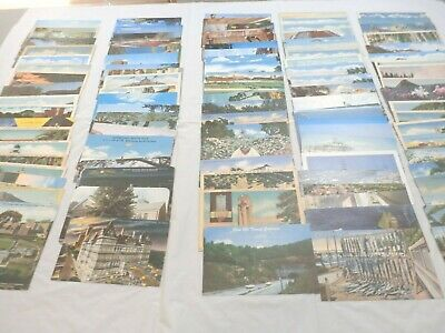 Vintage New And Used U.s. Postcards Lot Of Over 100