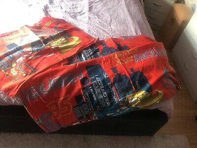 Cars Single Bedspread And Pillow Case
