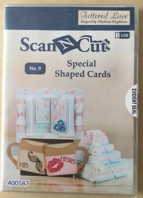 Tattered Lave Scan N Cut Special Shaped Cards No 9 USB 400587