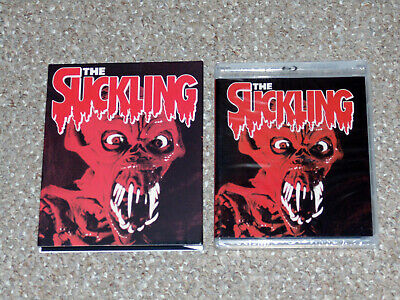The Suckling Blu-ray/DVD Combo New Slip Cover Vinegar Syndrome