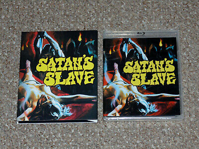 Satan's Slave Blu-ray/DVD Combo New Slip Cover Vinegar Syndrome