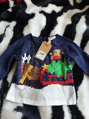 Baby Unisex Next Christmas Jumper New   Age 3 Month  Bnwt