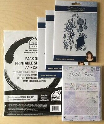 Tattered Lace Pastel Haven Collection