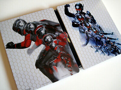 ANT-MAN AND THE WASP • Blu-ray 2D + 3D Steelbook (Spanish cover with UK discs)