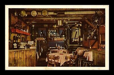 Us Postcard Cape Cod Room At The Drake Seafood Restaurant Chicago Illinois