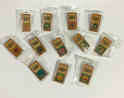 POKEMON TCG League Original Badges 1999/2000 Lot of 12 Brand New Pins