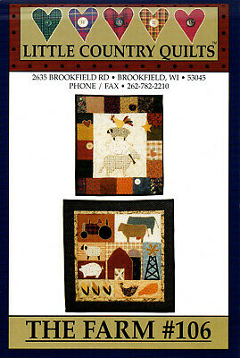 Patchwork Gabarits - Little Country Quilts *The Farm*