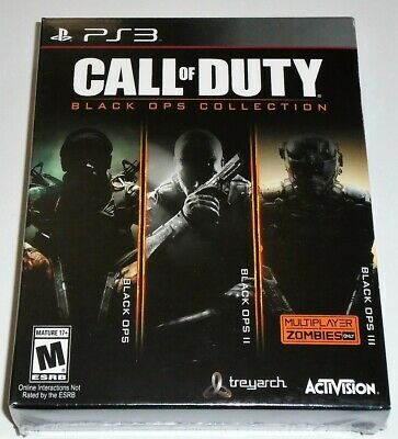 Call of Duty: Black Ops Collection (Sony PlayStation 3, 2016) BRAND NEW  FREE SH