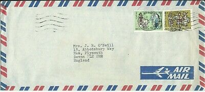 Vietnam - Air Mail Cover to Plymouth, Devon UK & Contents.