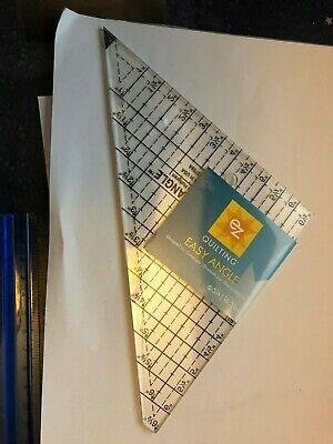 NEW EZ Quilting Easy Angle Tool 6-1/2in