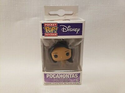 Funko Pocket Pop Keychain Disney Pocahontas Vinyl Figures Keychain - New