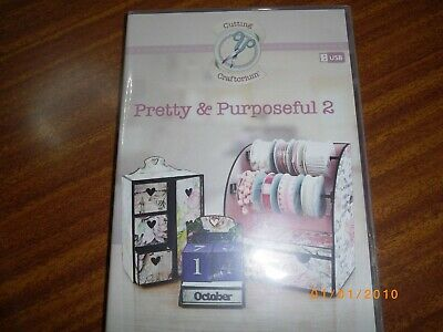 Cutting Craftorium Pretty & Purposeful 2 Scan N Cut Usb