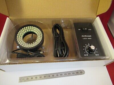 Amscope Led Ring Lamp Light Set Led-96S Microscope Part As Pictured &12-A-03