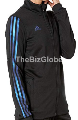 Adidas Women's Tiro Soccer Track Jacket Black / Blue Pearl Essence