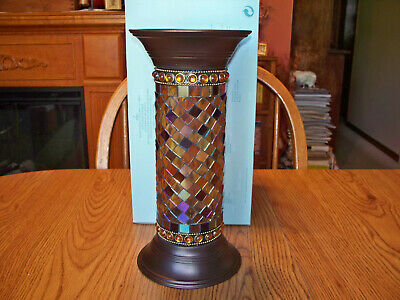 Partylite GLOBAL FUSION TAPER OR PILLAR HOLDER