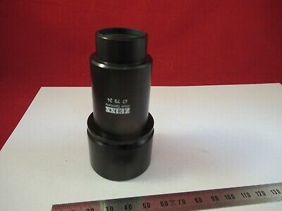 Zeiss Germany In35  477924 Mounted Lens Microscope Part As Pictured &12-A-39