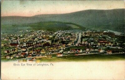 1907. Birds Eye View Of Lehighton, Pa. Postcard Upa2