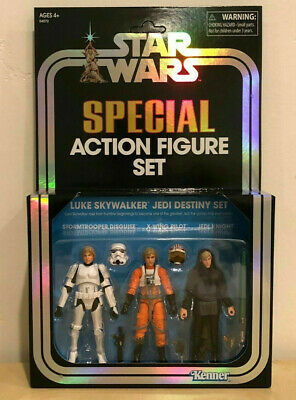 Star Wars Vintage Collection LUKE SKYWALKER Jedi Destiny SDCC 2019 EXCLUSIVE
