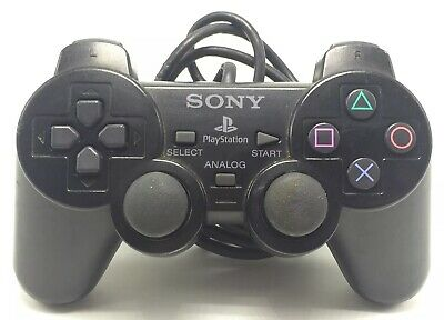Sony Playstation 2 DualShock 2 Official PS2 OEM Authentic Corded Controller