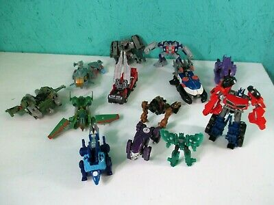 Transformers Complete & Incomplete Bodies & Parts Lot For Repair Optimus Prime