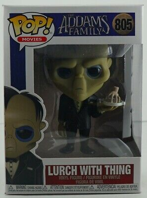 Funko Pop Movies The Addams Family Lurch with Thing #805