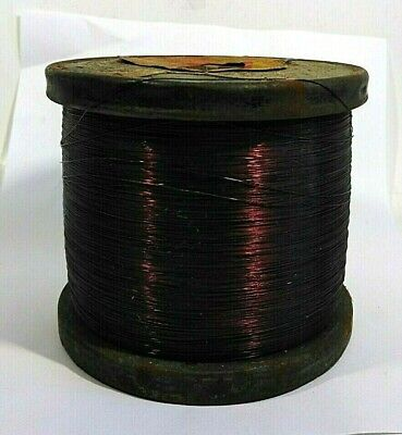 Vintage Enameled Copper Wire Dated 9/ 1949 SX Wire Products  6.89 pounds NOS
