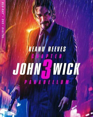 John Wick: Chapter 3 - Parabellum Includes Blu Ray  DVD & Digital Copy