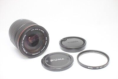 Sigma Compact Hyperzoom 28-200mm F/3.5-5.6 ASP AF Macro Lens For Minolta Sony