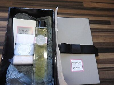 willow organic beauty bath oil and soap