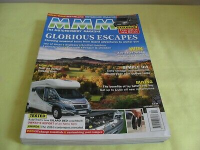 Mmm The Motorhomer's Magazine, December 2015, New