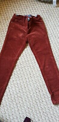 Next Cord Girls Trousers Age 6