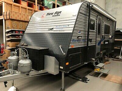 2015 New Age Manta Ray MR16E Delux Off Road Van with independant coil springs