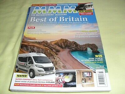 Mmm The Motorhomer's Magazine, March 2016, New