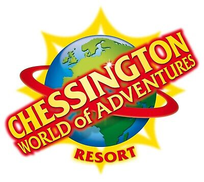 2 x Chessington World of Adventures Tickets - Friday 18th October - Adult/Child