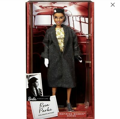 Rosa Parks Barbie Doll Inspiring Women Collection 2019 NEW In Hand Ready to SHIP