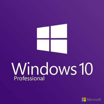 Microsoft Windows 10 Pro Professional 32/64bit License Key Instant Delivery