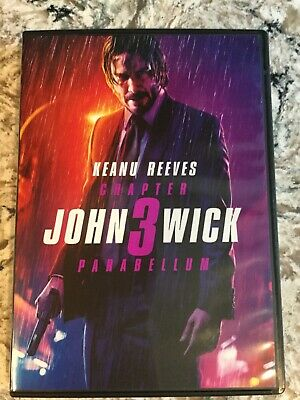 John Wick: Chapter 3-Parabellum (2019 DVD)