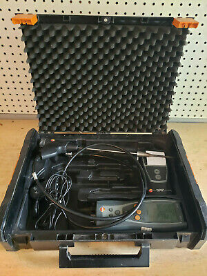 Used Testo 327 Combustion Analyzer w/ Printer. All Sensors Work!