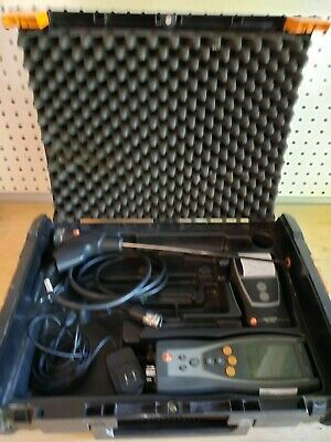 Used Testo 327 Combustion Analyzer w/ Printer. All Sensors Work! Under Cal!