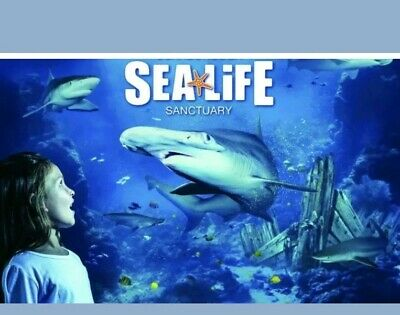 Sealife Tickets x2 For London on 31/10/2019